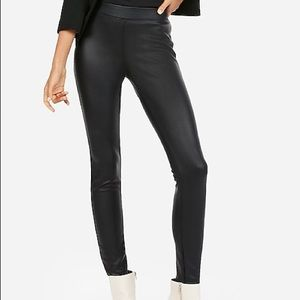 EXPRESS faux leather legging